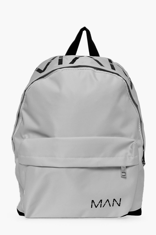 Printed Nylon Back Pack - white - MAN Printed Nylo