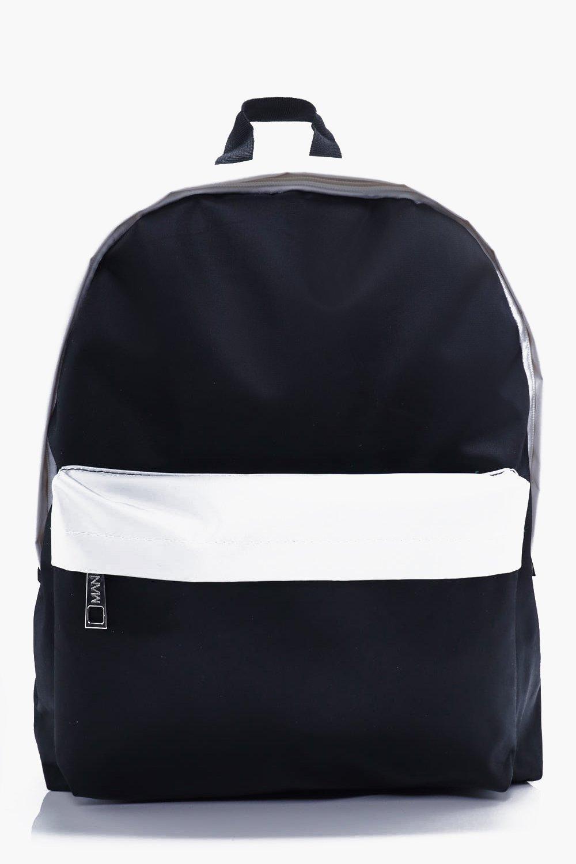 Nylon Backpack - black - Monochrome Nylon Backpack