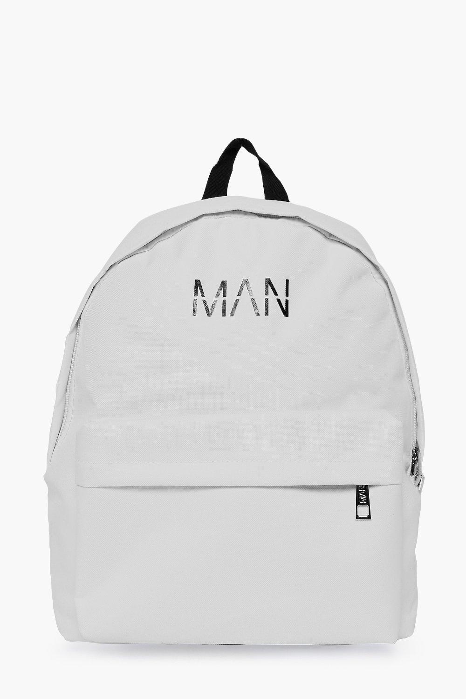 Print Back Pack - white - MAN Print Back Pack - wh