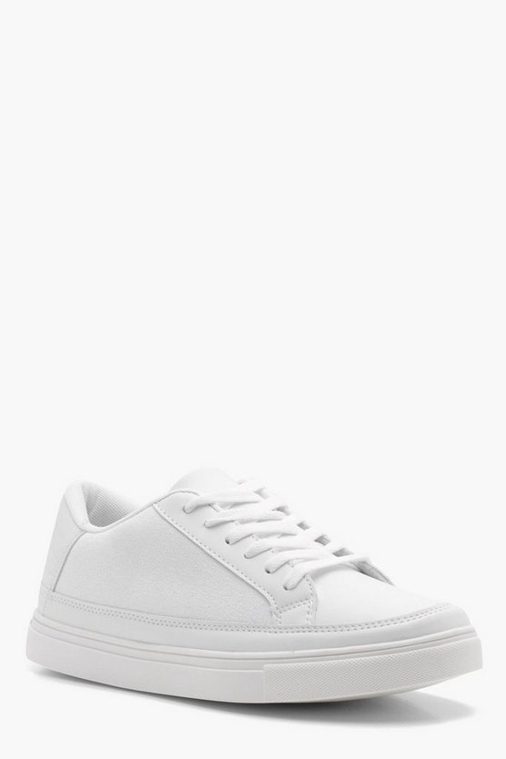 Canvas Lace Up Skate Shoe