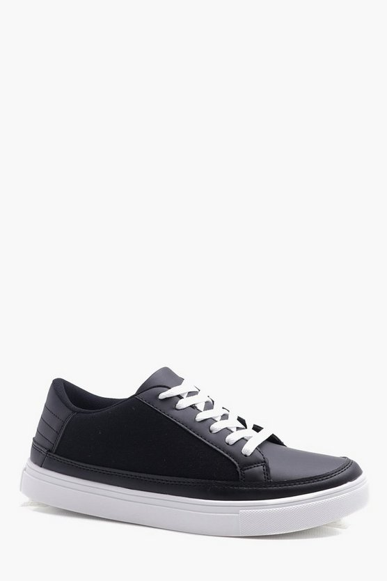 Canvas Lace UP Skate Shoes