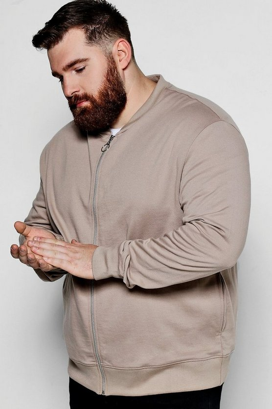 Big And Tall Basic Jersey Bomber