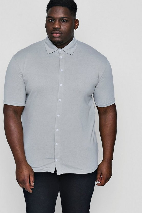 Big And Tall Short Sleeve Jersey Shirt