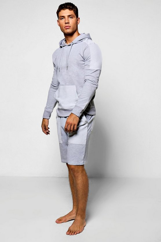 Reverse Loop Back Short Tracksuit