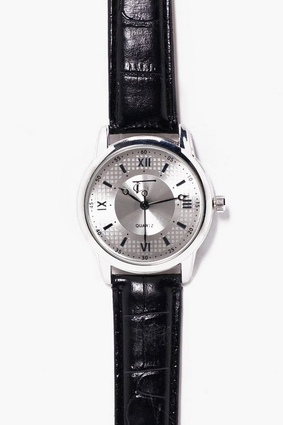 PU Strap Watch