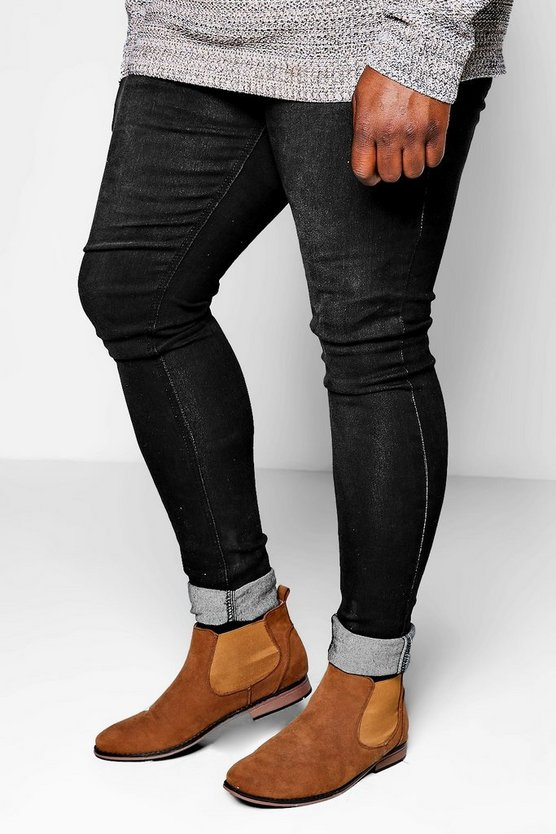Jean Skinny avec revers Big And Tall