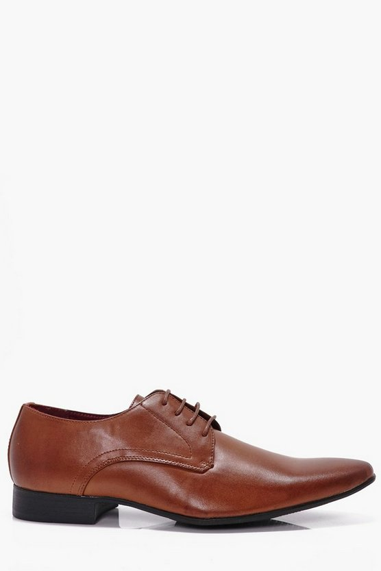 Tan Lace Up Shoes