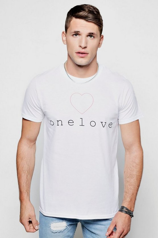 Charity One Love T-Shirt
