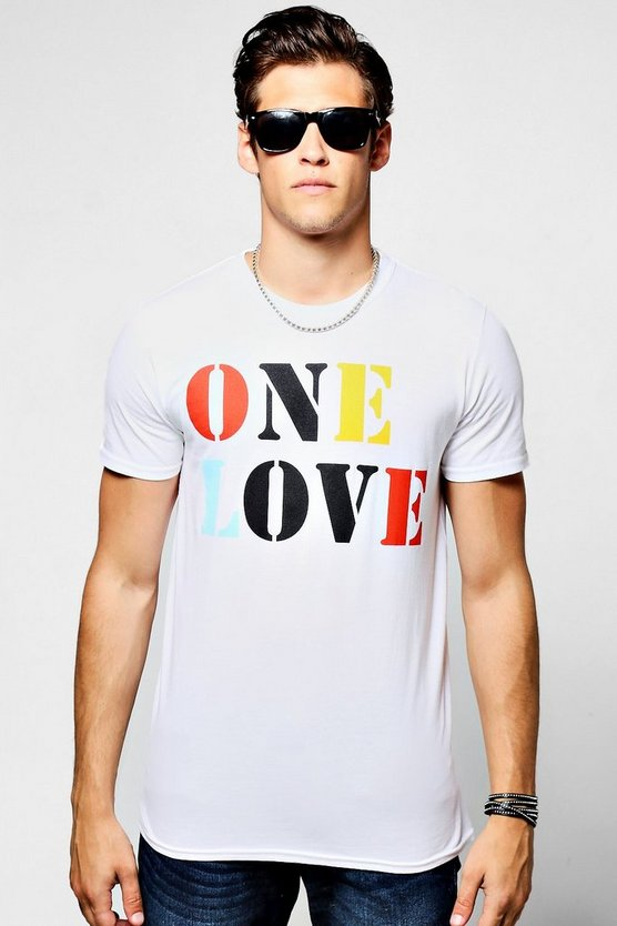 Charity One Love Crew Neck T-Shirt