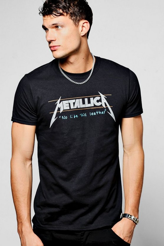 Metallica No Life Til Leather Band T-Shirt