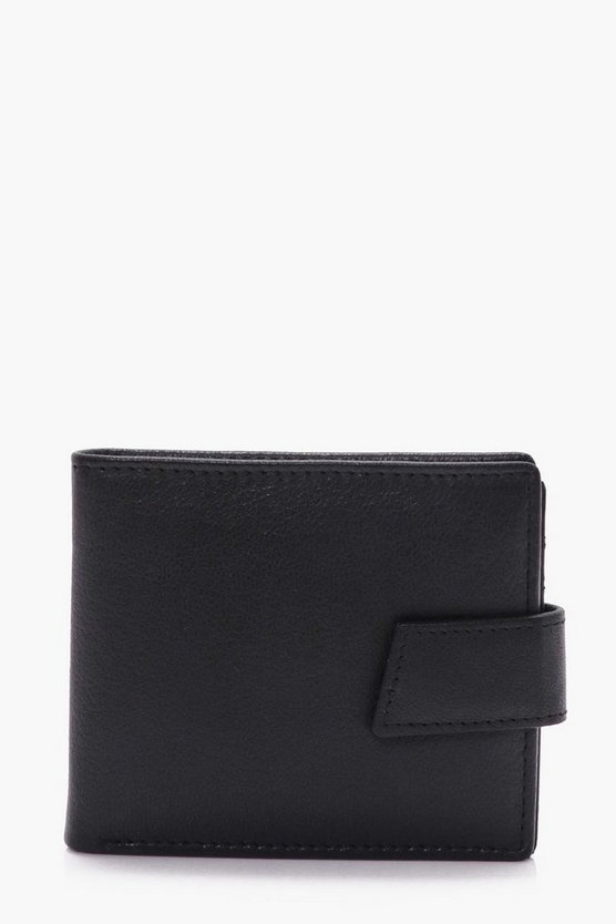 Real Leather Tab Wallet
