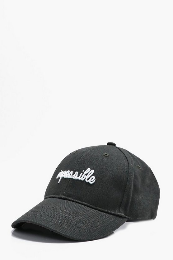 Impossible Embroidered Cap