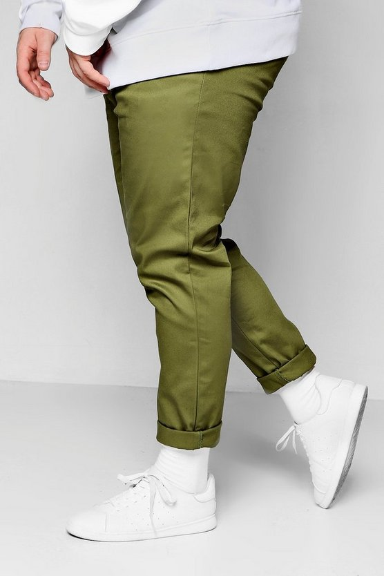 Big and Tall Slim Fit Chino Trouser