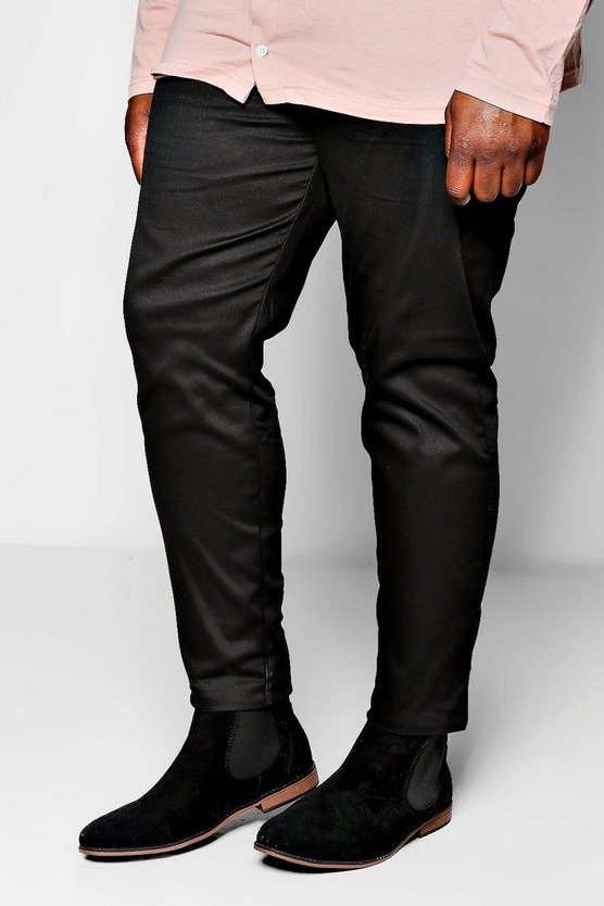 Big and Tall Slim Fit Chino Trouser With Stretch
