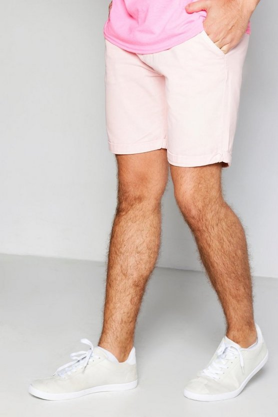Plain Chino Shorts