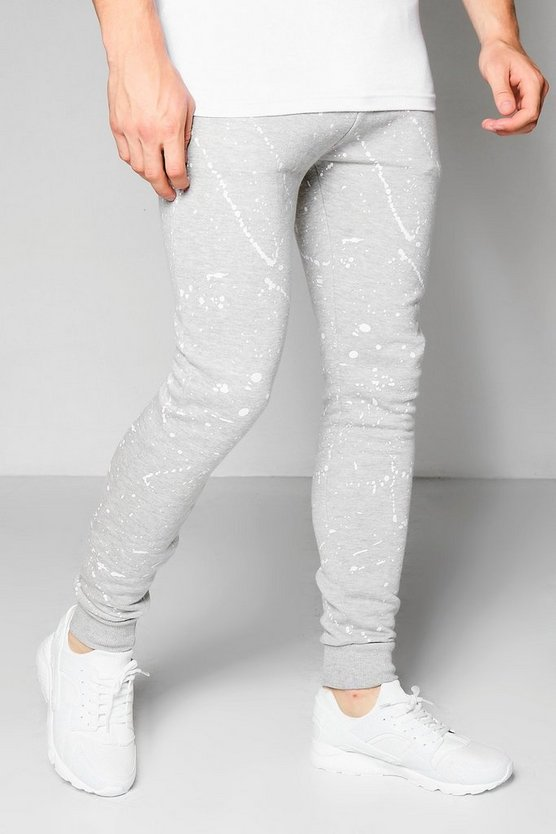 Super Skinny Paint Splatter Joggers