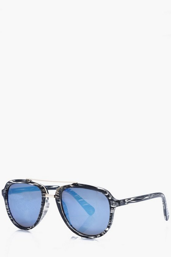 Tortoise Shell Aviator Sunglasses