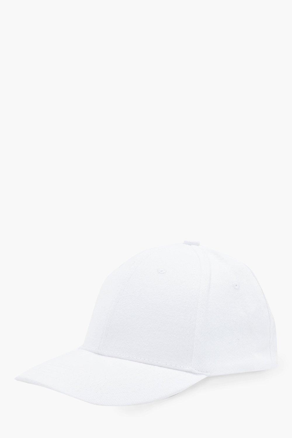 Cap - white - Basic Cap - white