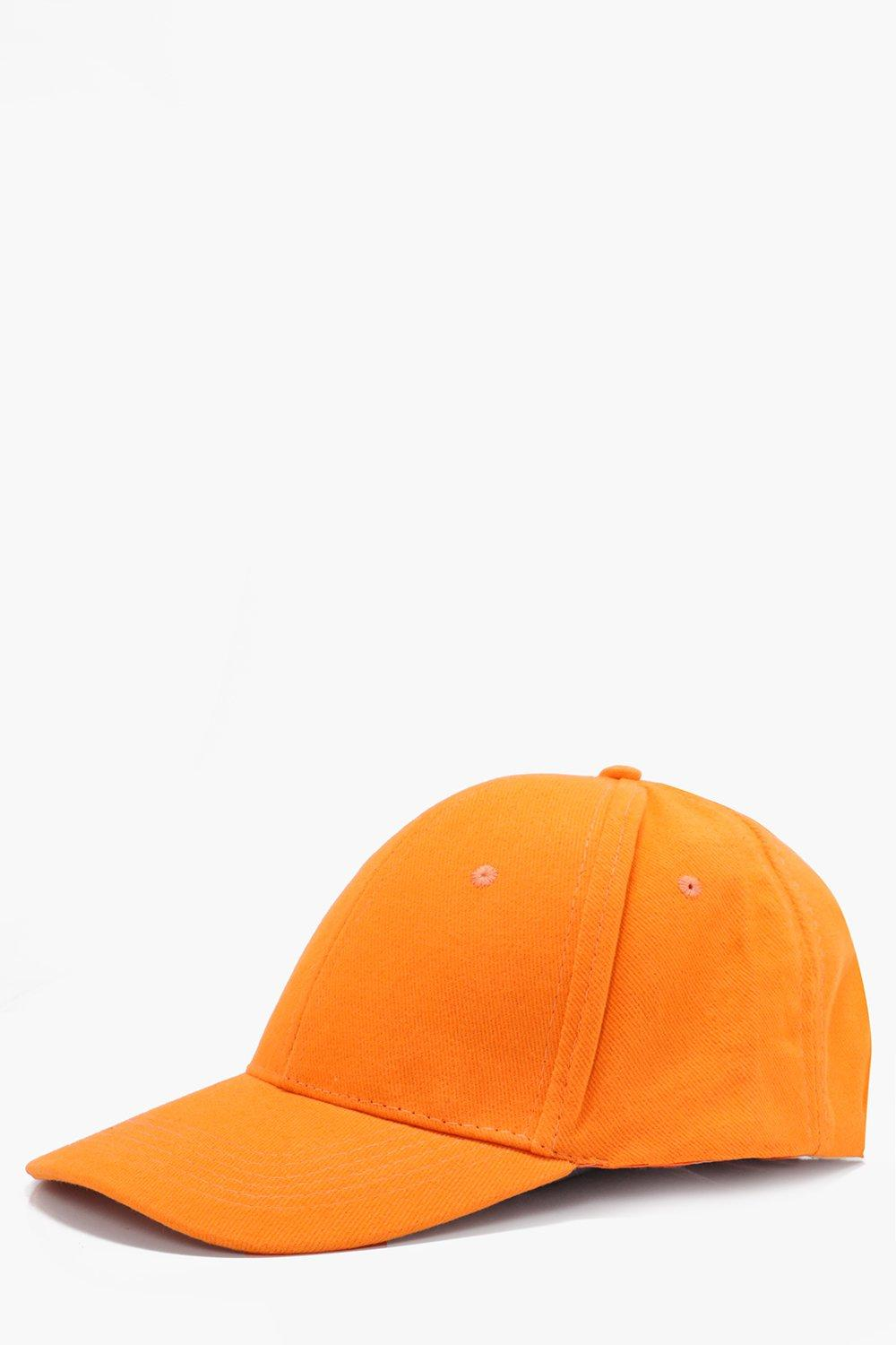 Cap - orange - Basic Cap - orange