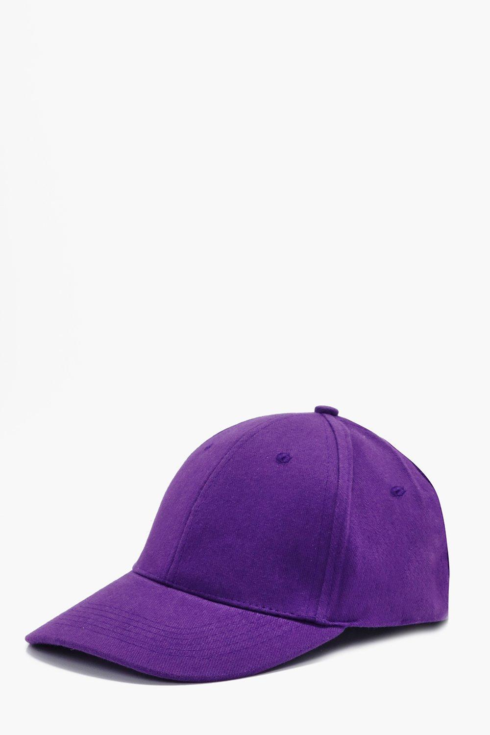Cap - purple - Basic Cap - purple