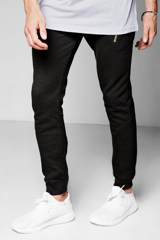 Skinny Fit Jogger With Zips