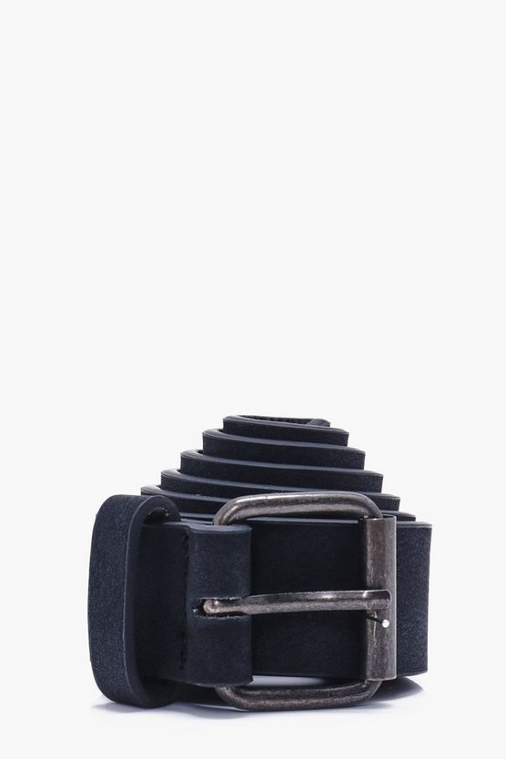 Distressed PU Belt