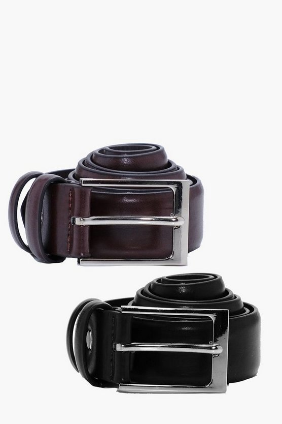 Twin Pack PU Belts