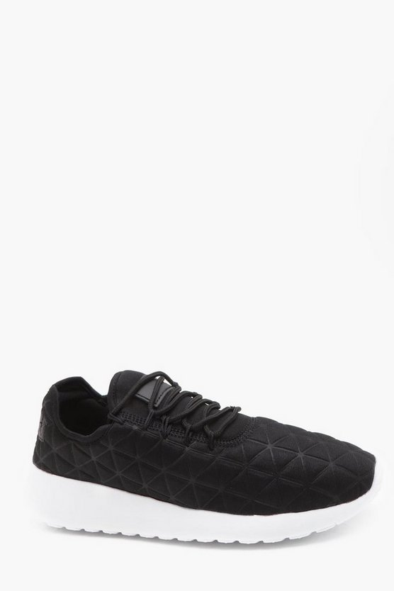 Quilted Running Trainer