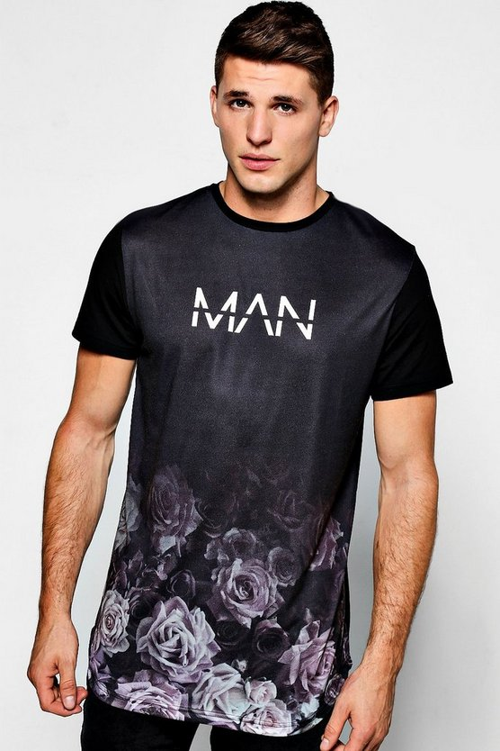 MAN Rose Sublimation T-Shirt