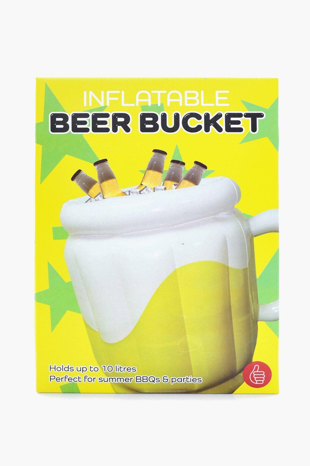 Beer Bucket - yellow - Inflatable Beer Bucket - ye