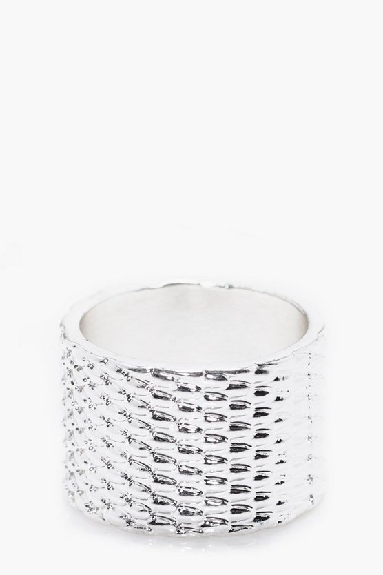 Large Textured Ring