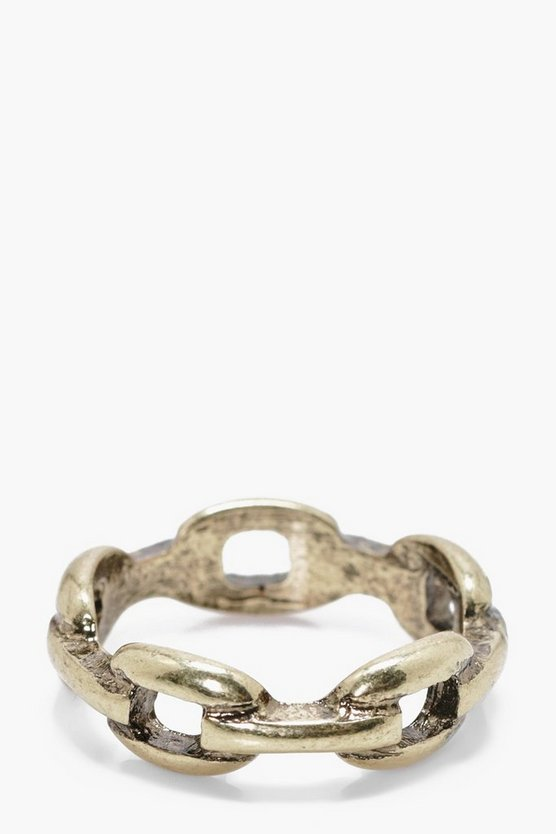 Chain Look Ring