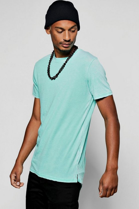 Longline Burnout T-Shirt