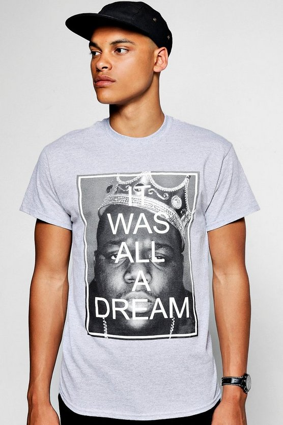Grey Biggie Dream Licence T-Shirt