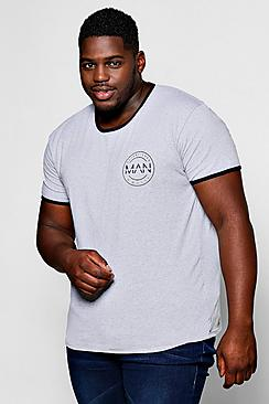 Big And Tall MAN Logo T-Shirt