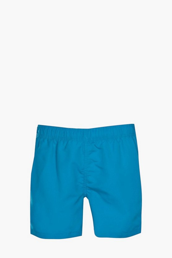 Royal Blue Plain Swim Short