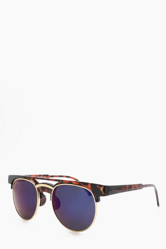 Tortoise Shell Club Master Sunglasses