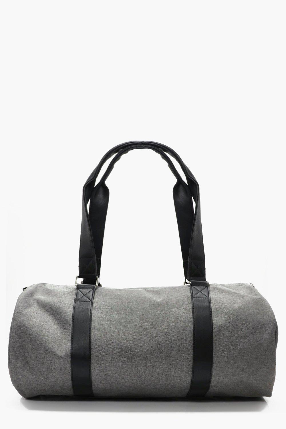 Duffle Bag - grey - Grey Duffle Bag - grey