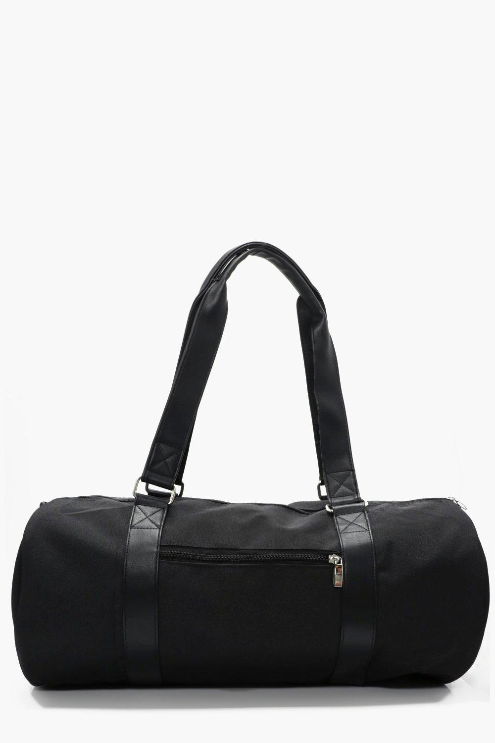 Duffle Bag - black - Black Duffle Bag - black