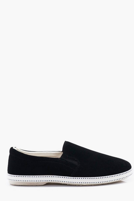Peforated Slip-On Plimsol