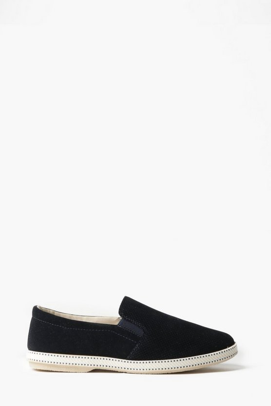 Perforated Slip-On Plimsoll