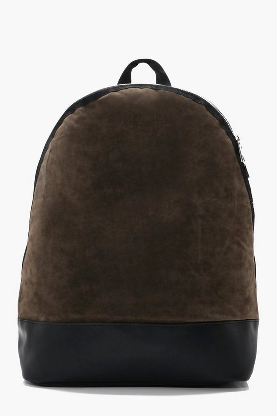 Lux Suedette Back Pack
