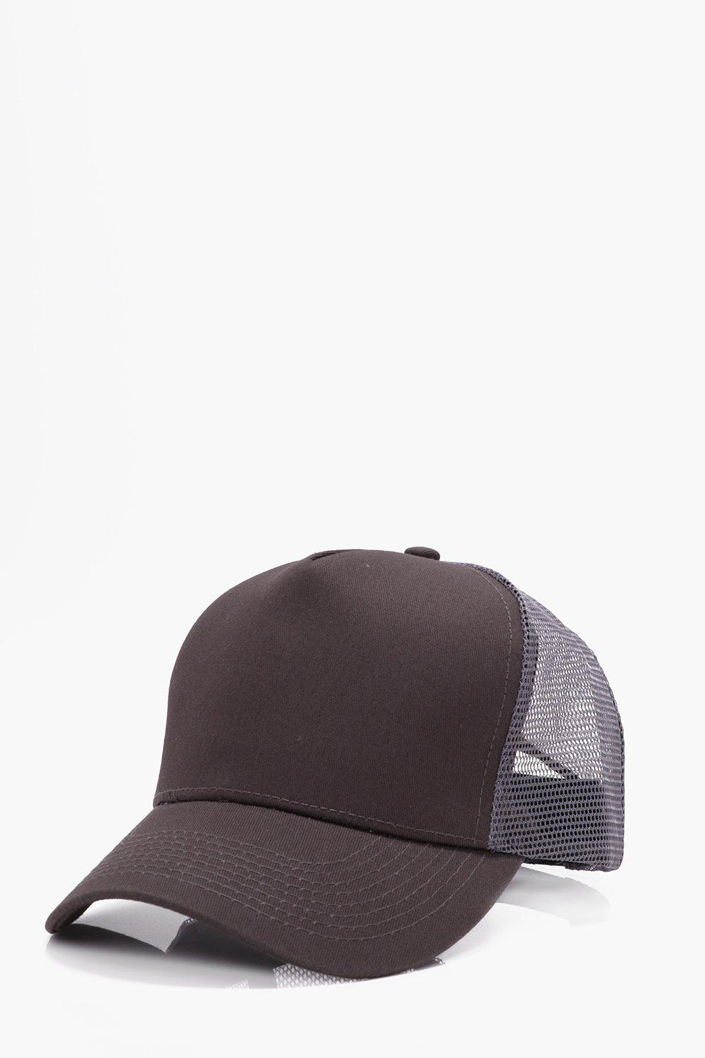 Contrast Trucker - grey - Plain Contrast Trucker -