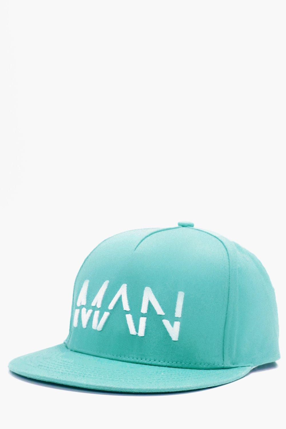 Embroidered Snapback - mint - MAN Embroidered Snap