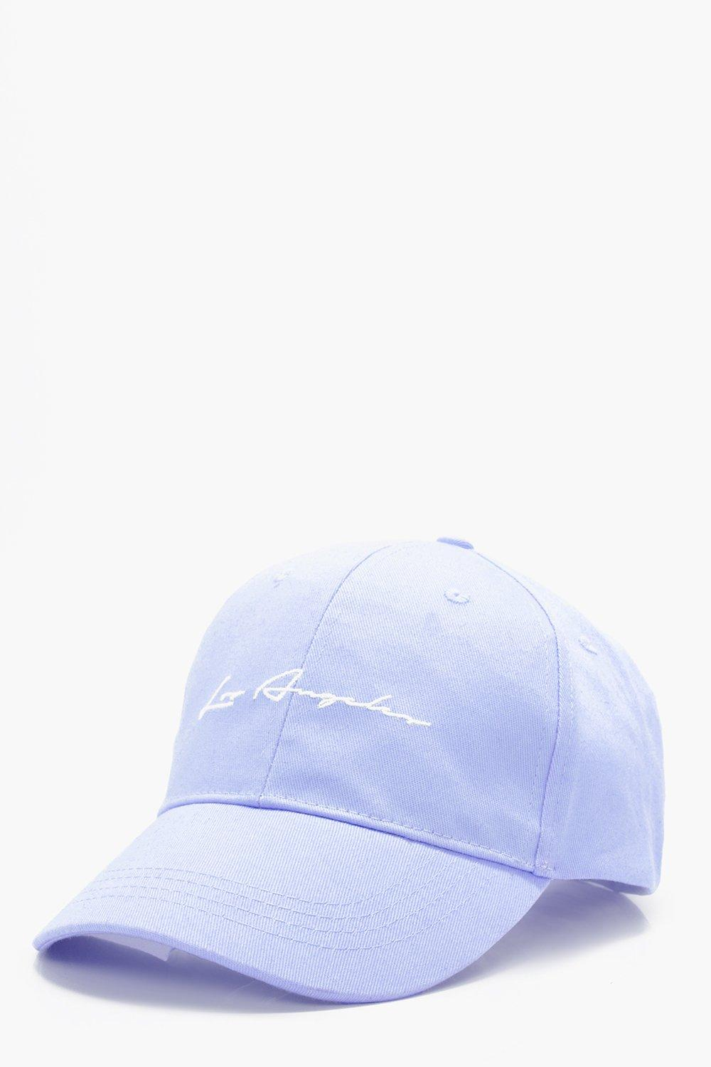 Angeles Signature Embroidered Cap - blue - Los Ang