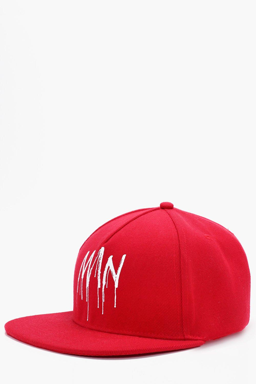 Graffiti Printed Snap Back - red - Man Graffiti Pr