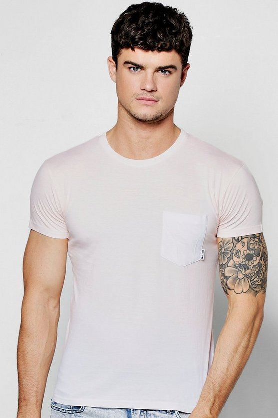 Dip Dye Pocket T Shirt