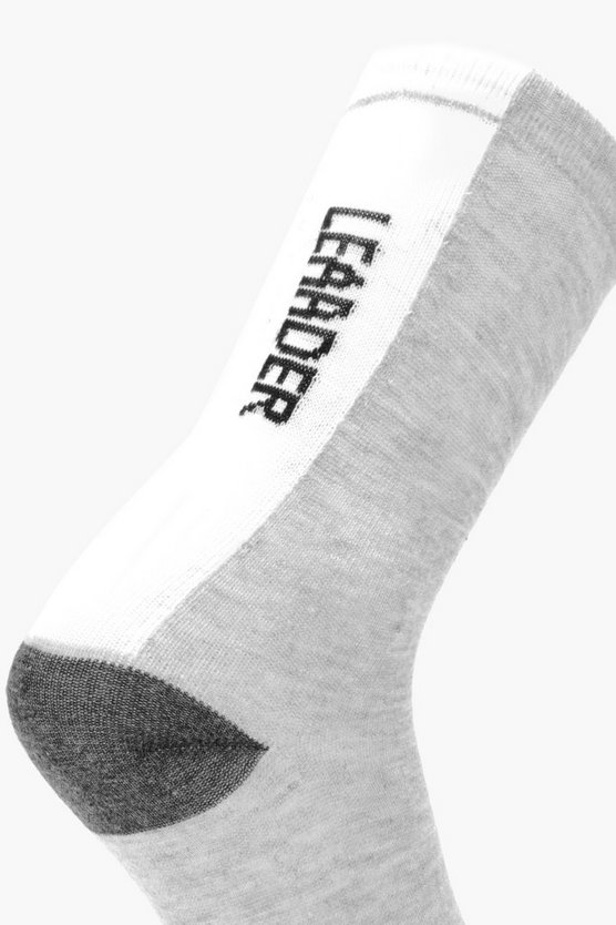 Leader Slogan Socks