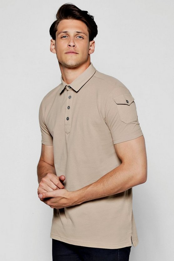 Cotton Pique Polo T-Shirt