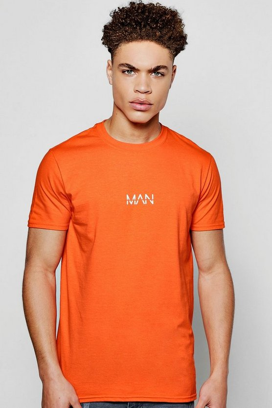 Original MAN Logo Print T-Shirt